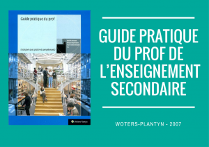 Guide pratique du prof